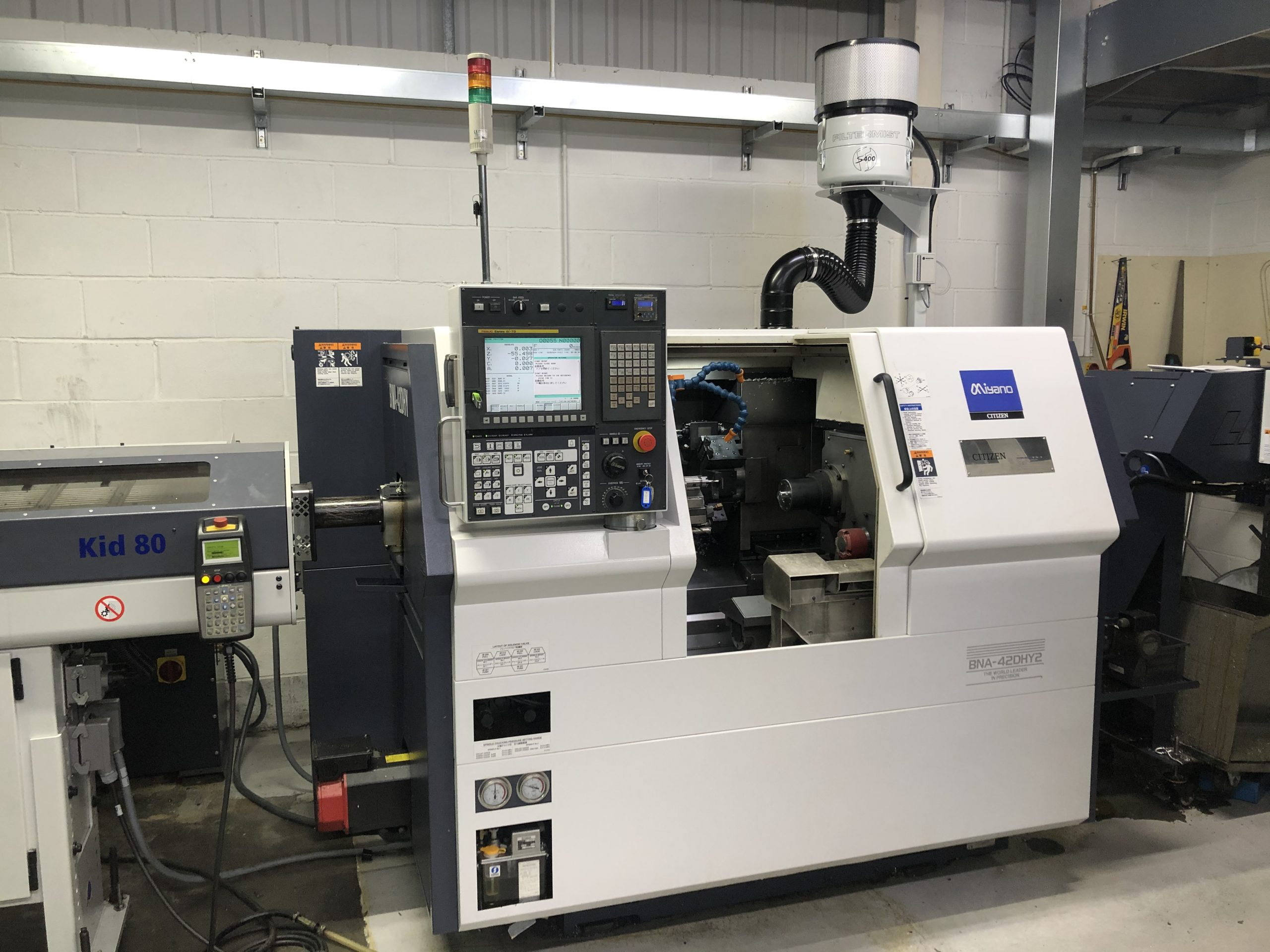 Preowned Miyano BNA-42DHY2 7 axis Turning Centre